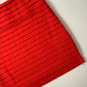 BCBGeneration Skirts - BCBGeneration • Knit Ruffle Mini Skirt